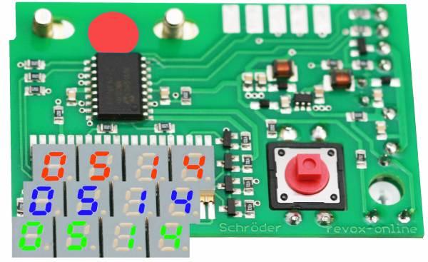 Digitalzähler für Revox A77, B77, PR99 MKI