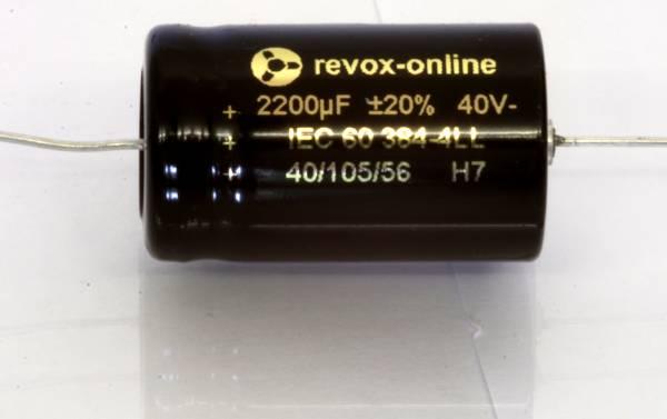 Kondensator 2200µF 40V axial