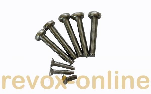 Schrauben für Revox B77 (8 Stück)