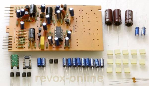 Reparatursatz repairkit Input-Platine 1.177.220-222 für Revox B77